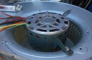 Clean Blower Motor